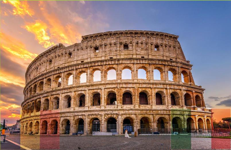 transport persoane italia roma