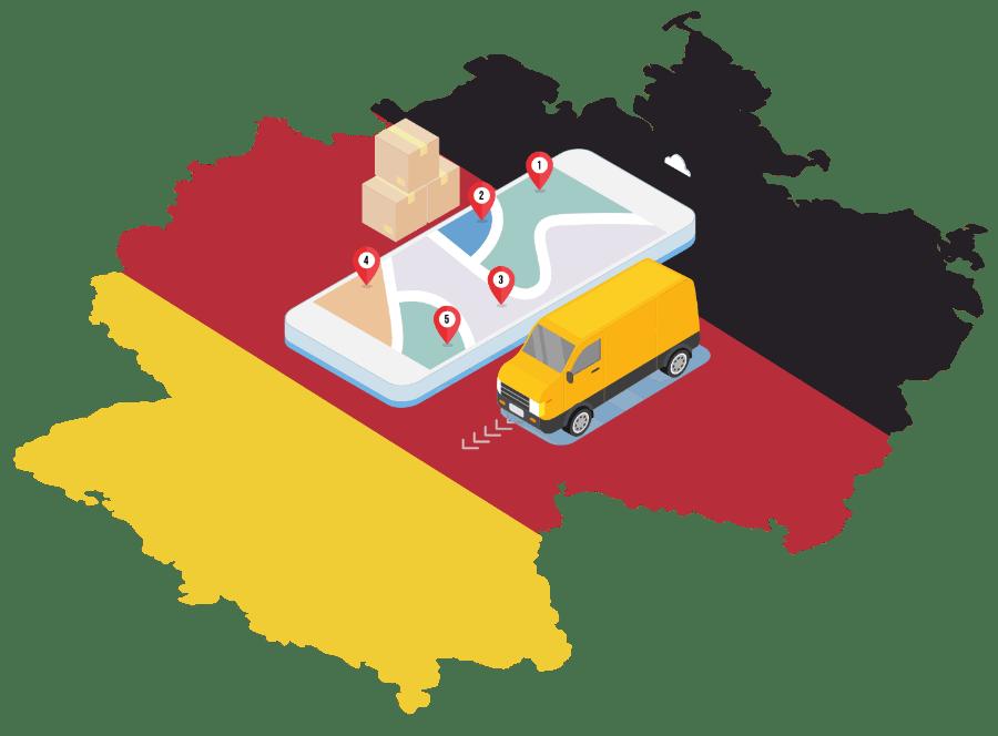 transport colete germania